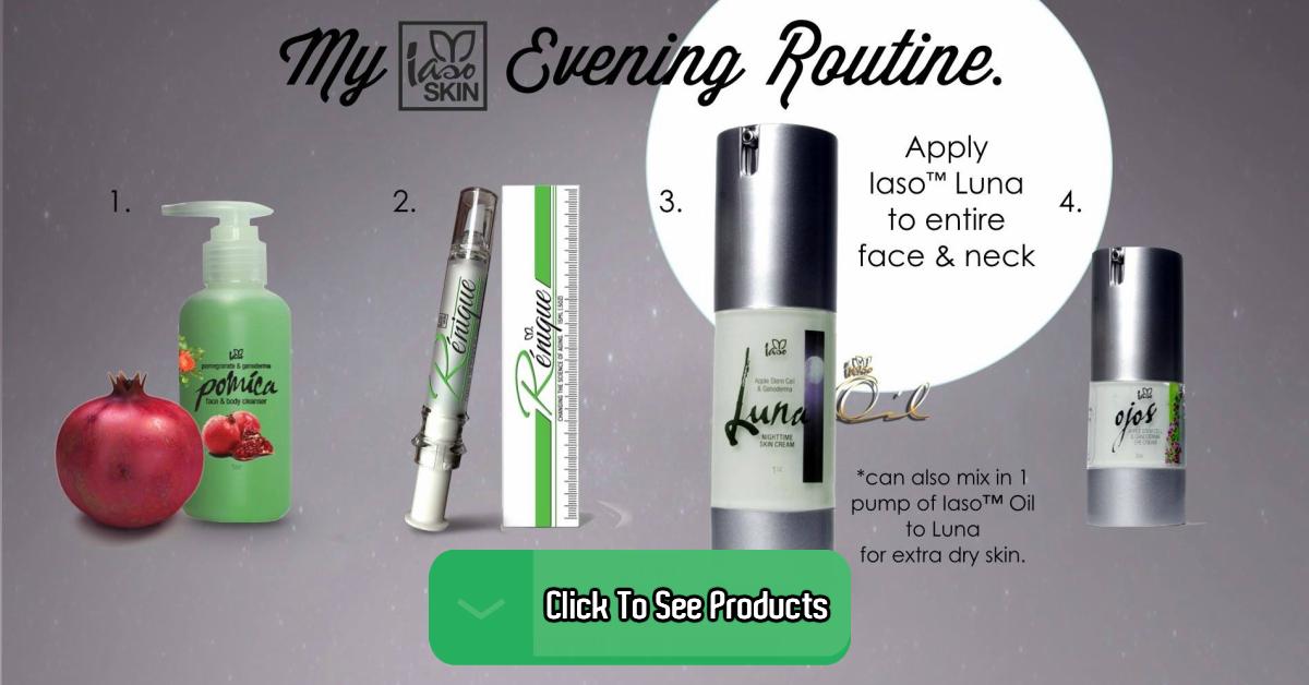 Iaso Skin Care Line Ad