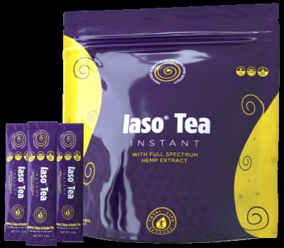 Iaso Tea Instant with Hemp Extract